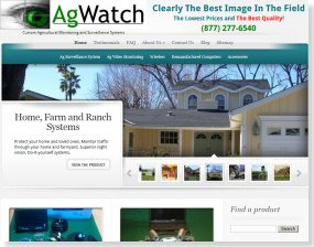 SEO Web Design for AgCamera.com
