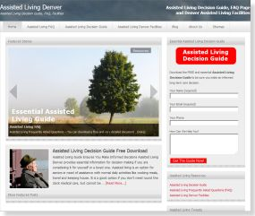 SEO Web Design for Assisted Living Denver
