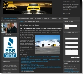 Auto Body Shop in Denver, Colorado