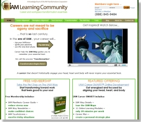 SEO Web Design for IAmLearningCommunity.com