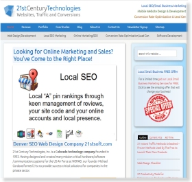 Web Development Web Design Company - 21st Century Technologies, Inc.