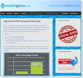 SEO Web Design for WashGuru.com
