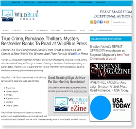 Web Design for WildBlue Press