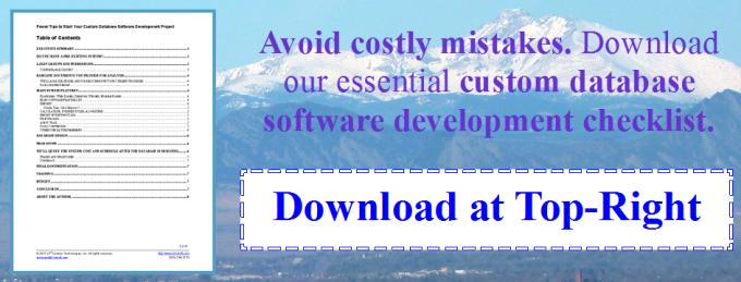 Download Our Software Development Checklist