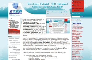 wordpress seo cms tutorial